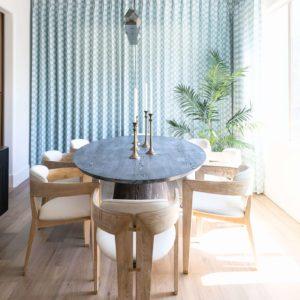 contemporary dining room scottsdale interior design