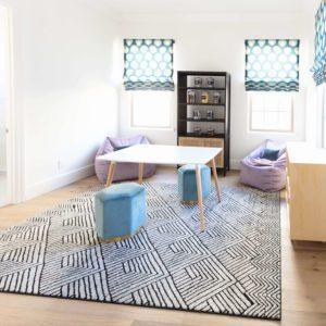 contemporary playroom scottsdale interior design
