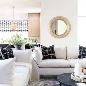 contemporary living room scottsdale interior design