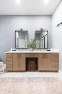 contemporary bathroom vanity Scottsdale