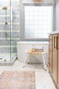 Marquesa Trellis Boho Bathroom Rug